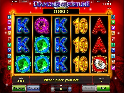 Jun 23, · Now, you can cash in some opportunities of growing rich by playing Diamonds of Fortune slot.Novomatic has earned lots of applause from gamers by introducing this 5-reel game.Stakes can be raised on 10 paylines and various bonus features can be used for winning money%(15).Denizli